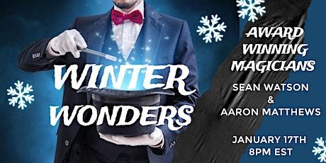 Winter Wonders Virtual Magic Show tickets
