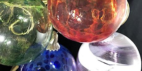 Still Winter Time? Blow Glass Ornaments, with glass artist Kenton Pratt tickets
