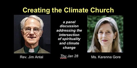 Creating the Climate Church tickets