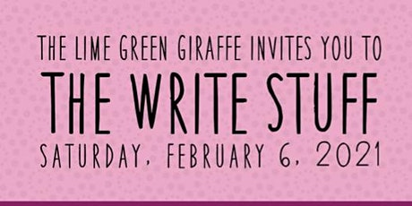 The Write Stuff -  A Writer's Workshop tickets