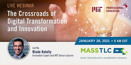 The Crossroads of Digital Transformation and Innovation tickets
