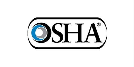 Annual OSHA Update Live Webinar (2CEU) tickets