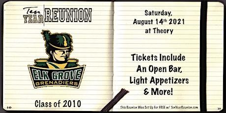 Elk Grove High School Class of 2010: Ten Year Reunion tickets