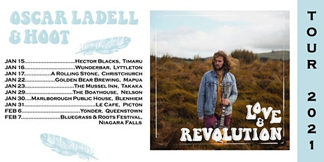 Oscar LaDell & Hoot with Jo Little - Christchurch, Afternoon Session tickets