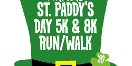 St. Patrick's Day **Socially Distanced** 5K & 8K Fun Run/Walk tickets