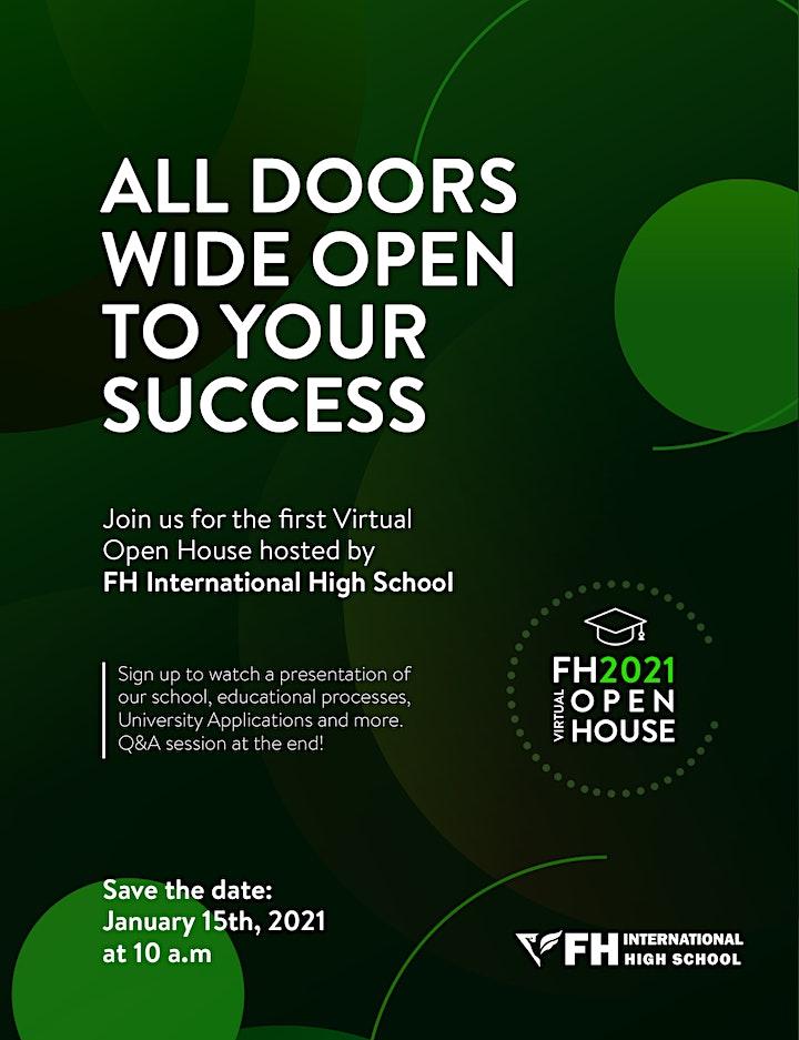 FH International High School Virtual Open House image