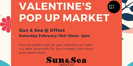 Sun and Sea Collective: Valentines Day Pop Up tickets