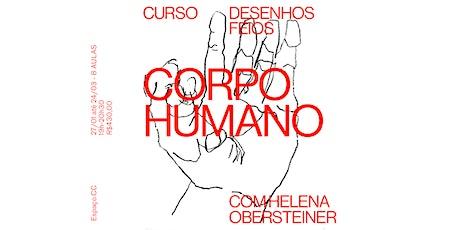 Desenhos Feios - Corpo humano (novo módulo) ingressos