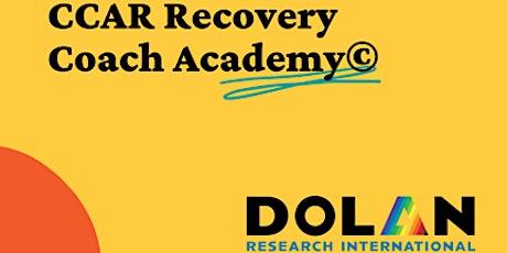 Virtual CCAR Recovery Coach Academy Training tickets