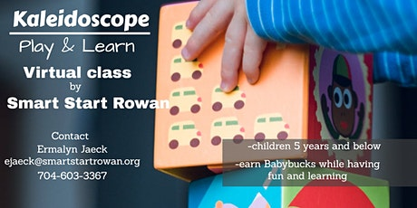 Kaleidoscope Play and Learn tickets