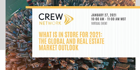 What is in Store for 2021 – The Global and Real Estate Market Outlook tickets