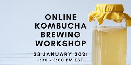 Online Kombucha Brewing Workshop tickets