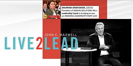 Leadership Teaching by John Maxwell - Change Your World! tickets