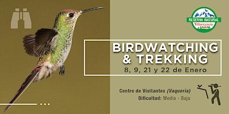 Trekking +  Birdwatching en Reserva Natural Villavicencio entradas