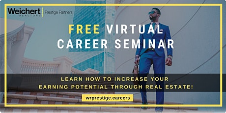 FREE Virtual Real Estate Career Seminar tickets