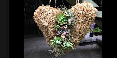 Love heart Kokedama  workshop for Valentine's day tickets