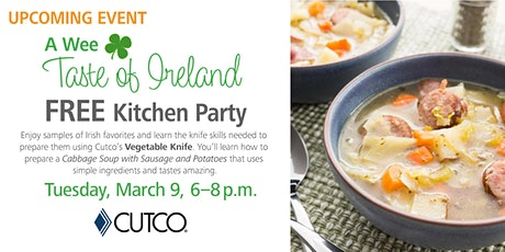 FREE COOKING CLASS: A Wee Taste of Ireland tickets