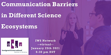 Communication Barriers in different Science Ecosystems tickets