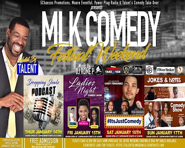 Talents MLK Comedy Festival weekend image