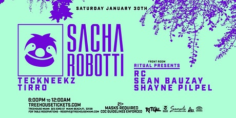 Sunsets @ Treehouse Miami w/ Sacha Robotti tickets