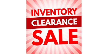 Jewelry With A  Smile Inventory Clearance Sale tickets