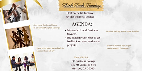 Think Tank Tuesdays @ The Business Lounge tickets