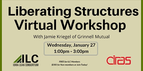 ILC - Liberating Structures Virtual Workshop tickets