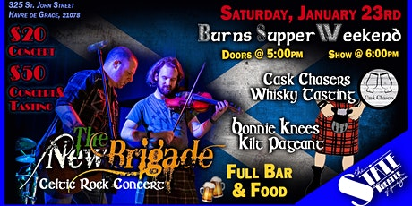 Burns Supper Weekend Par 2 - New Brigade! tickets