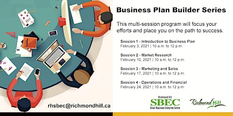 Business Plan Builder Series tickets