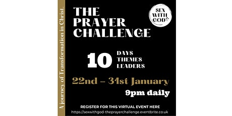 SEX WITH GOD - The Prayer Challenge tickets