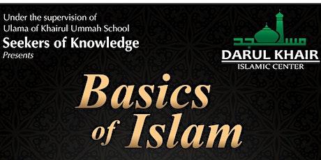 Basics of Islam 2021 tickets