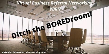 Virtual Business Referral Networking tickets