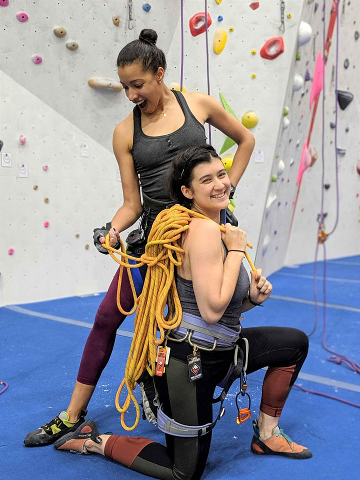 CRUX LGBTQ Climbing - First Friday New Climber Night @thecliffslic image