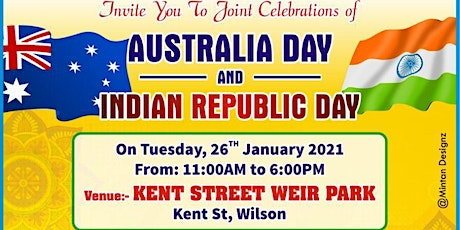 FREE EVENT: Joint Celebration of AUSTRALIA DAY and INDIAN REPUBLIC DAY 2021 tickets