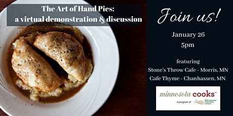 The Art of Hand Pies: A Virtual Demonstration & Discussion tickets