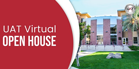 UAT  Virtual Open House tickets