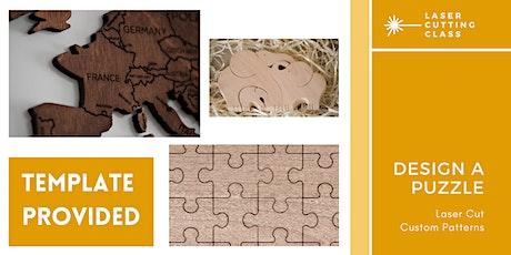 Laser Cut Workshop: Puzzles tickets