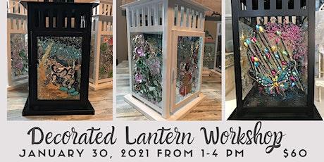 Decorated Lantern Workshop tickets