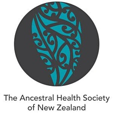 The Ancestral Health Society of New Zealand/Te Kauwhata Tūhauora o Aotearoa logo