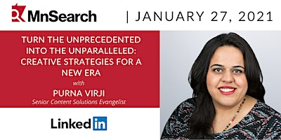 Turn the Unprecedented into the Unparalleled with Purna Virji