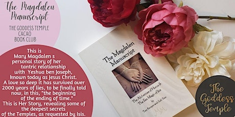 BOOK CLUB: The MAGDALENE Manuscript: Tor Central Branch tickets