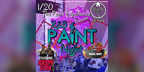 R&B and Paint™️ in the Bag! tickets