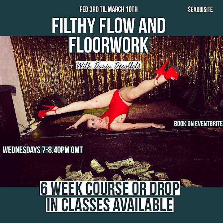 Filthy Flow & Floorwork Drop In Classes image