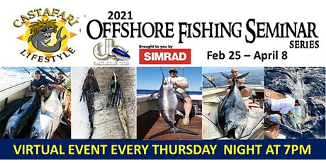 Castafari  Virtual Fishing School - Tuna South Of NY & RI - Mark Decabia tickets