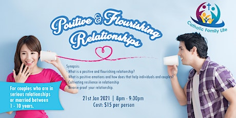 Positive & Flourishing Relationships tickets