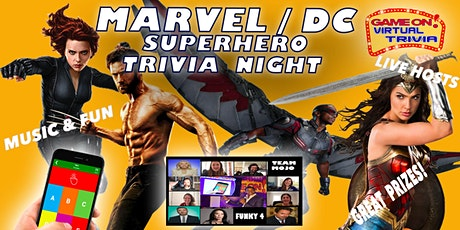 Marvel Movie   Trivia Night Great Fun   Great Prizes l tickets