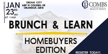 Brunch & Learn: Homebuyer's Edition tickets