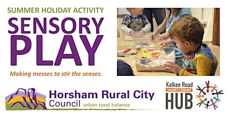 Sensory Play - Free January School Holiday Activity tickets