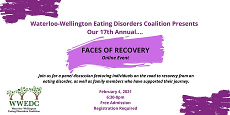 Faces of Recovery 2021 - Online Event tickets