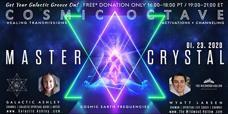 Cosmic Octave: Master Crystal Sternum Activation tickets
